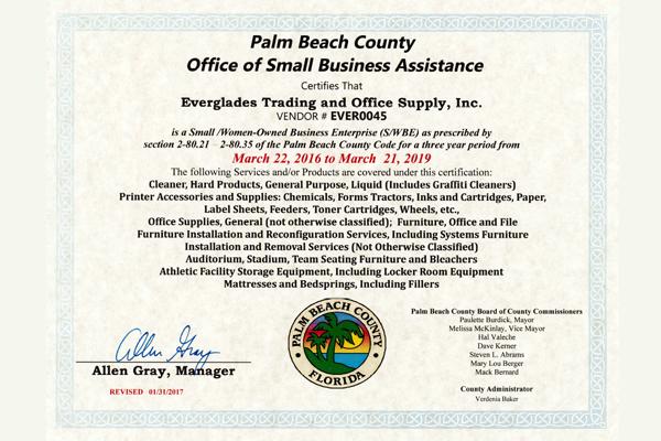 Palm Beach County FL