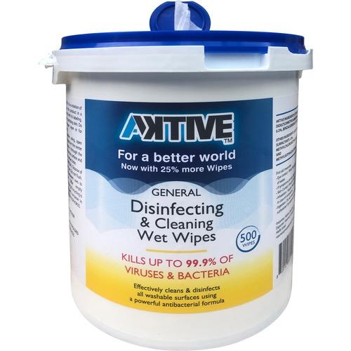 Antiviral Wipe Bucket